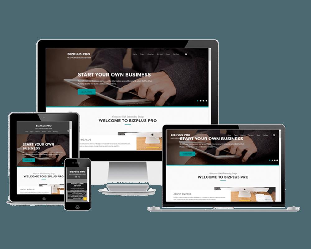 Premium WordPress Themes: BizPlus Pro