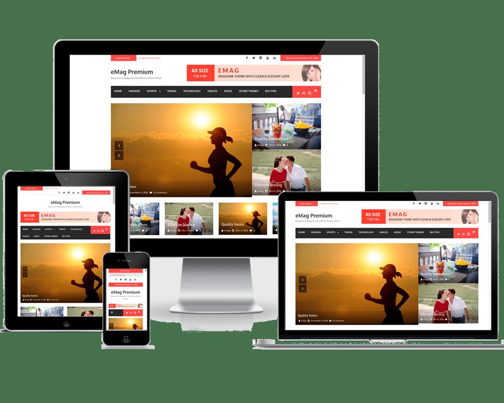 Premium WordPress Themes: eMag Pro