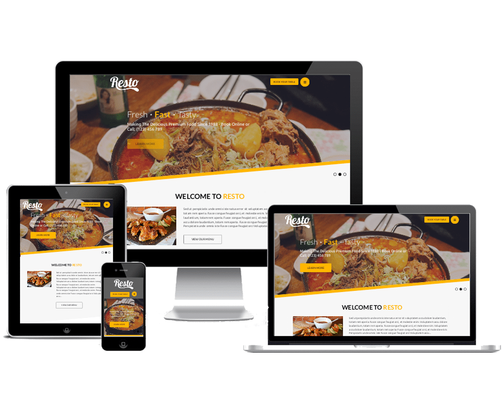 Premium WordPress Themes: Resto Pro