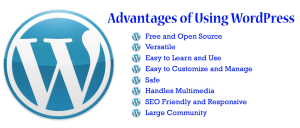 using wordpress advantages