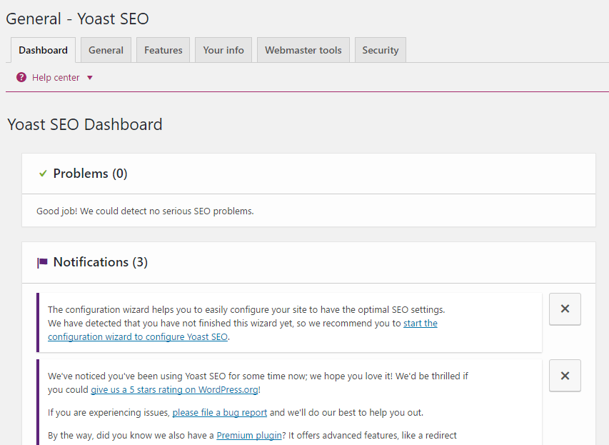 Yoast SEO Tabs Options