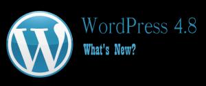 WordPress 4.8 Evans