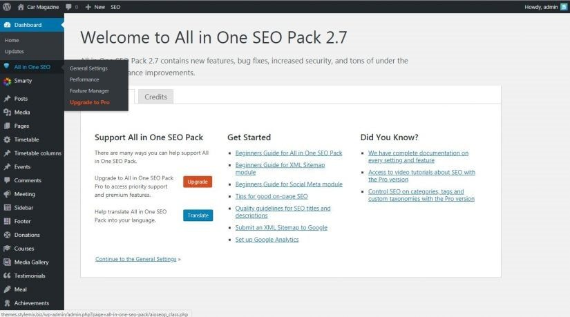 How To Setup All In One SEO Pack