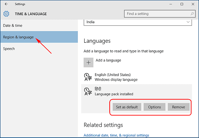 How To Set Default Language