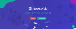 SaaSWeb WordPress themes for SaaS