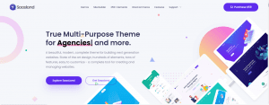 SaaSLand WordPress Theme