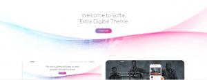 Softa WordPress theme
